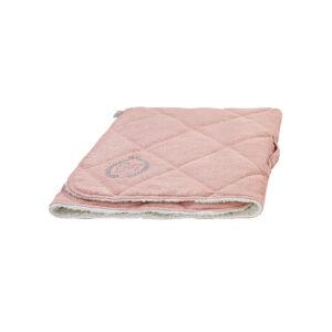 Chloes Home - Bahamas cosy warm sleeping bag pink / Śpiworek do spania dla psa i kota różowy